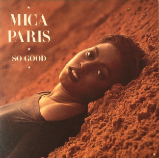 Mica Paris ‎- So Good (LP) (EX/EX-)